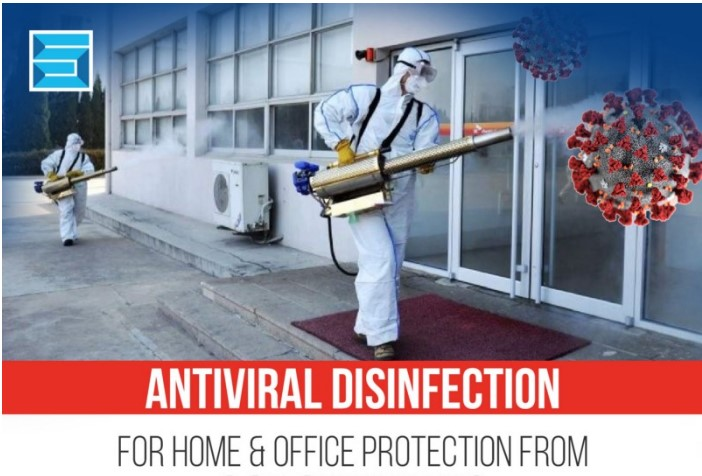 anitiviral disinfection Spray