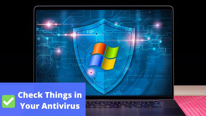 check things in antivirus
