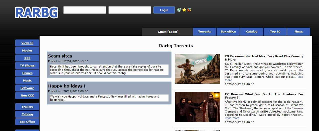 RABAG torrent site