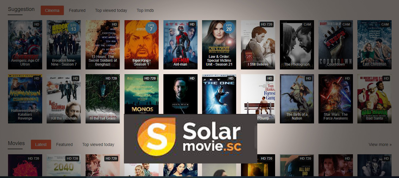 Solar movie proxy