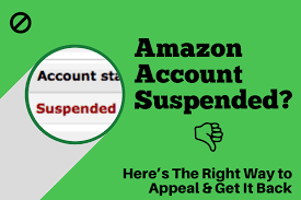 Tips on How to Get Your Suspended Amazon Account Back