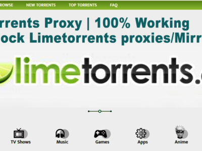 lime torrents proxy