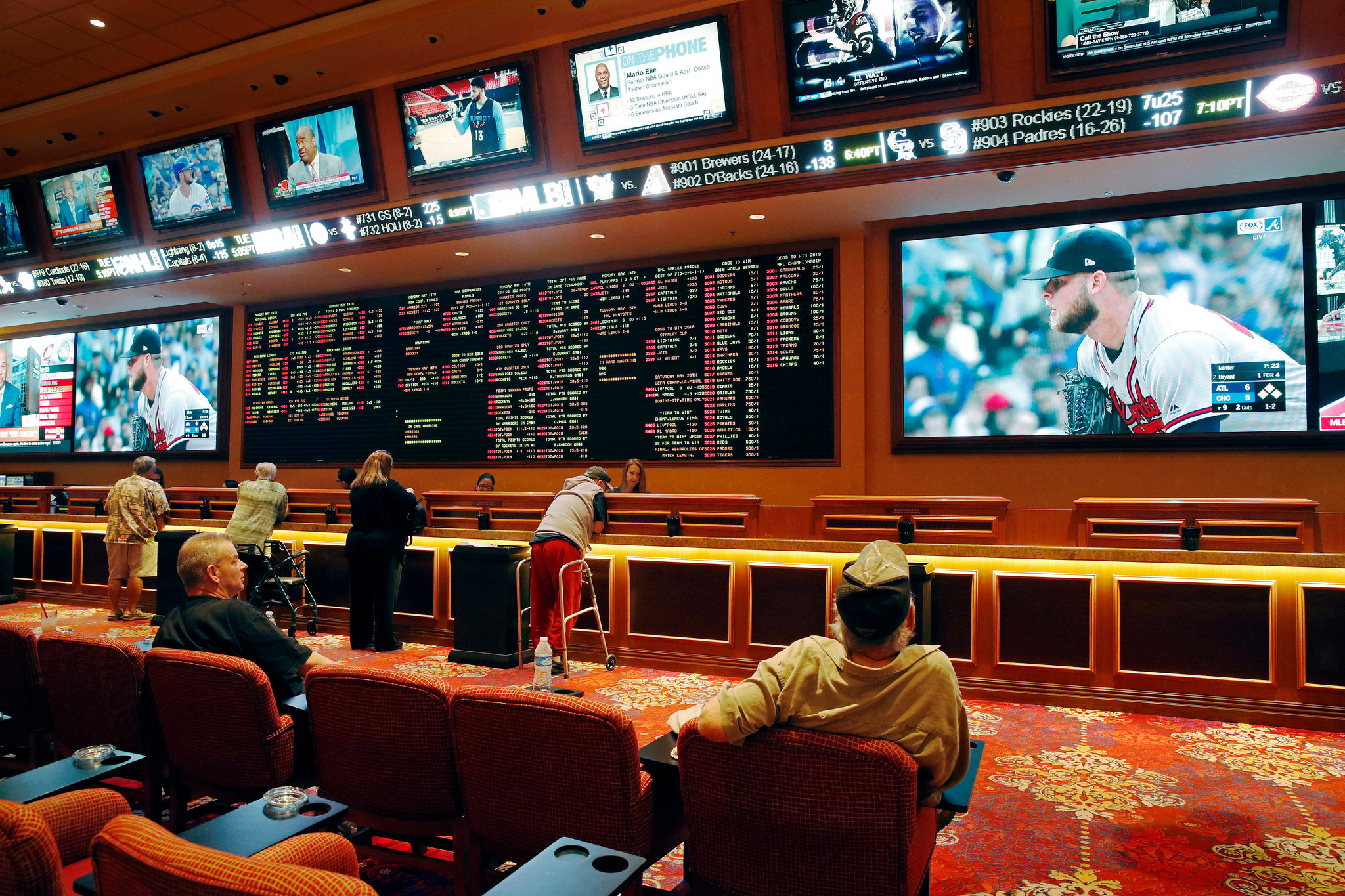 Sports Gambling picking up all over the US