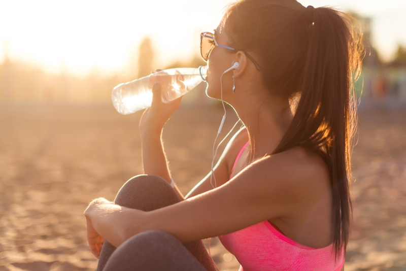 Why drink more water after deep tissue massage?