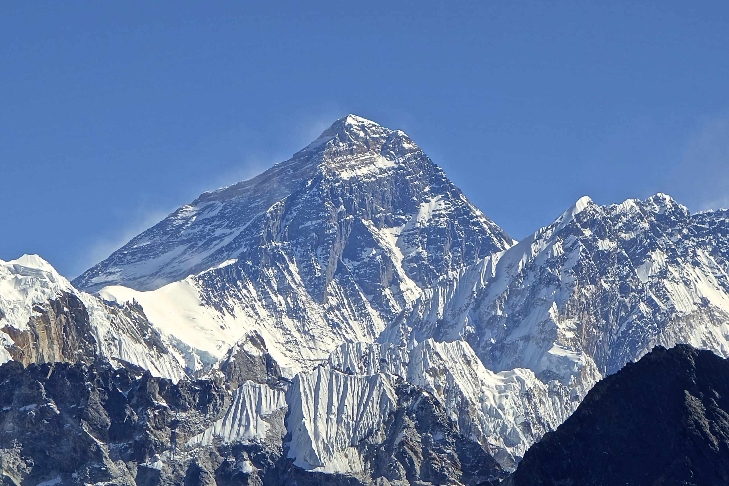 What is the height of Mount Everest