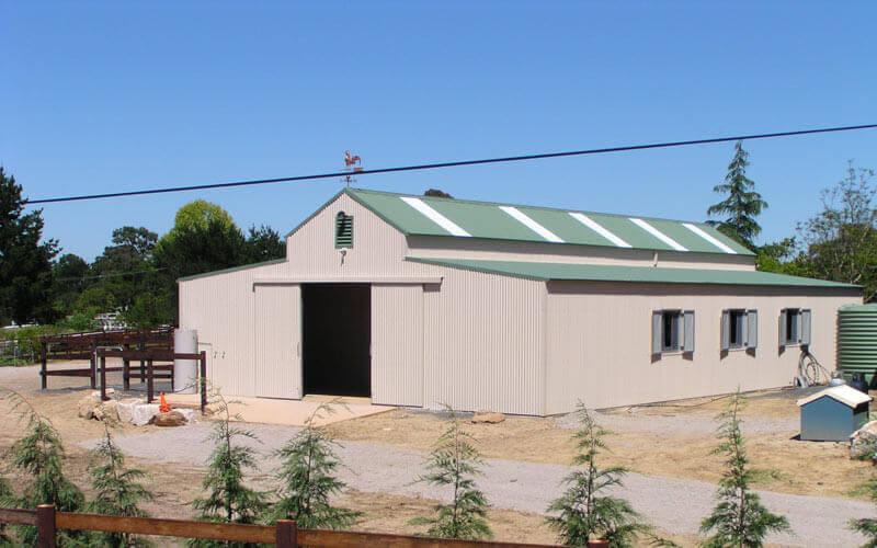 Aussie barns farmstead